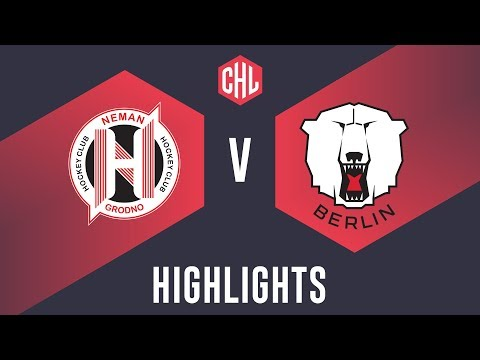 Highlights: Neman Grodno vs. Eisbären Berlin