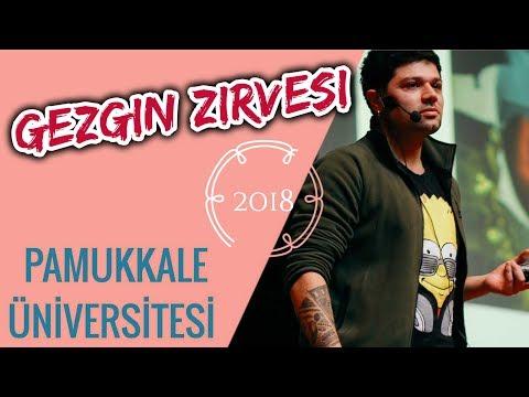 Servan Turan - Gezgin Zirvesi / Pamukkale Üniversitesi
