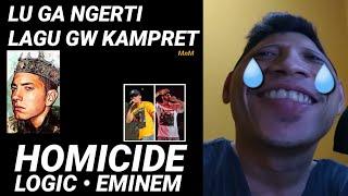 HOMICIDE - Logic ft. Eminem (PEMBAHASAN)