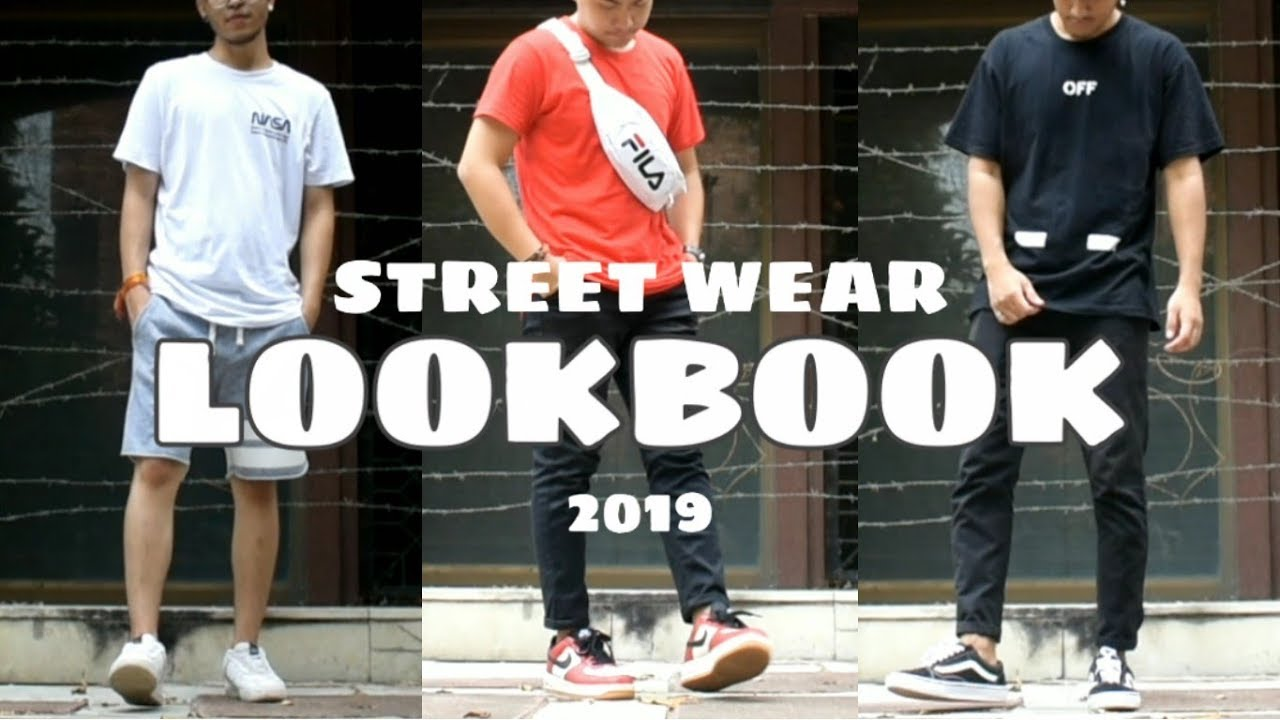 STREET WEAR LOOKBOOK 2019 | Outfit ideas | 3 Outfits | Fashion and style | 4
