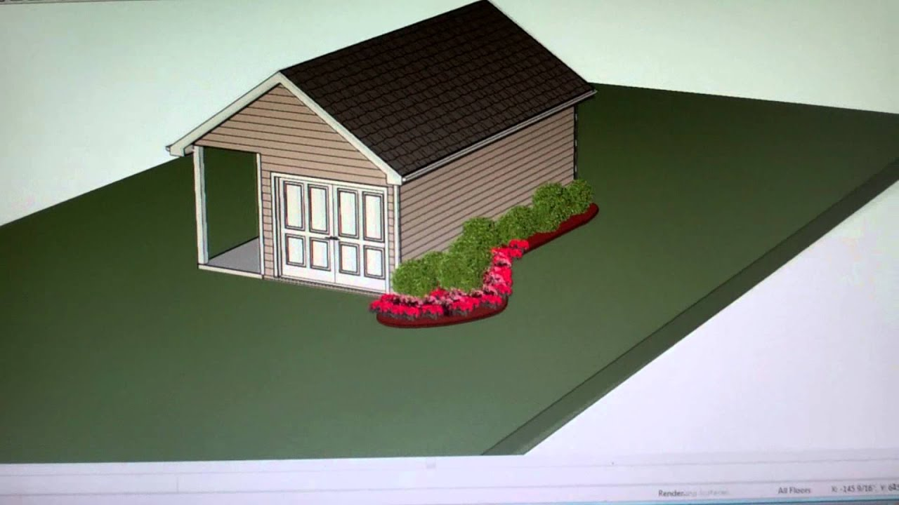 Shop design small building design graphics youtube for Small shop building plans
