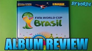 Album Review: Panini - Fifa World Cup Brasil 2014