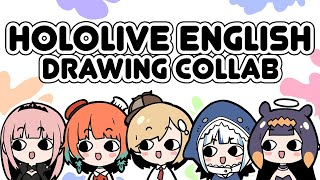 【COLLAB】 Let's Draw with HoloEN!