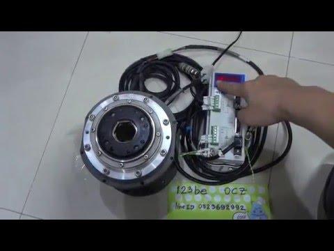 Test jog harmonic high torque 75 nm ac servo motor youtube for Bent creek motors inventory