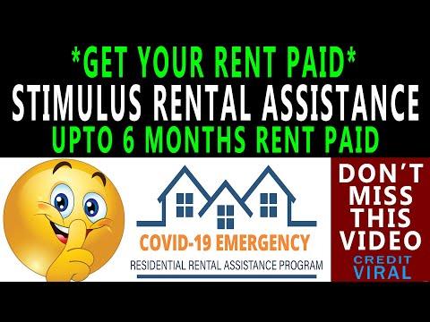 Stimulus Rental Assistance Program | Cares Act 2 Rental Assistance | Credit Viral