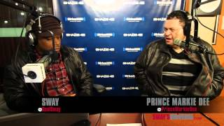Prince Markie Dee Talks The Fat Boys & Weight Loss on Sway in the Morning