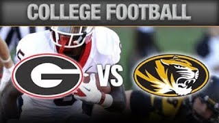 Georgia Bulldogs vs Missouri Tigers Live Play-by-Play & Reaction