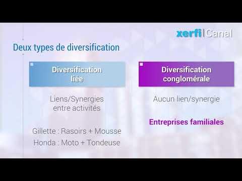 Comprendre les diversifications liées et conglomérales [Philippe Gattet]