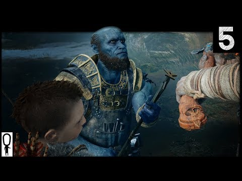 BROK - God of War - Part 5 - Gameplay Let's Play Walkthrough 2018