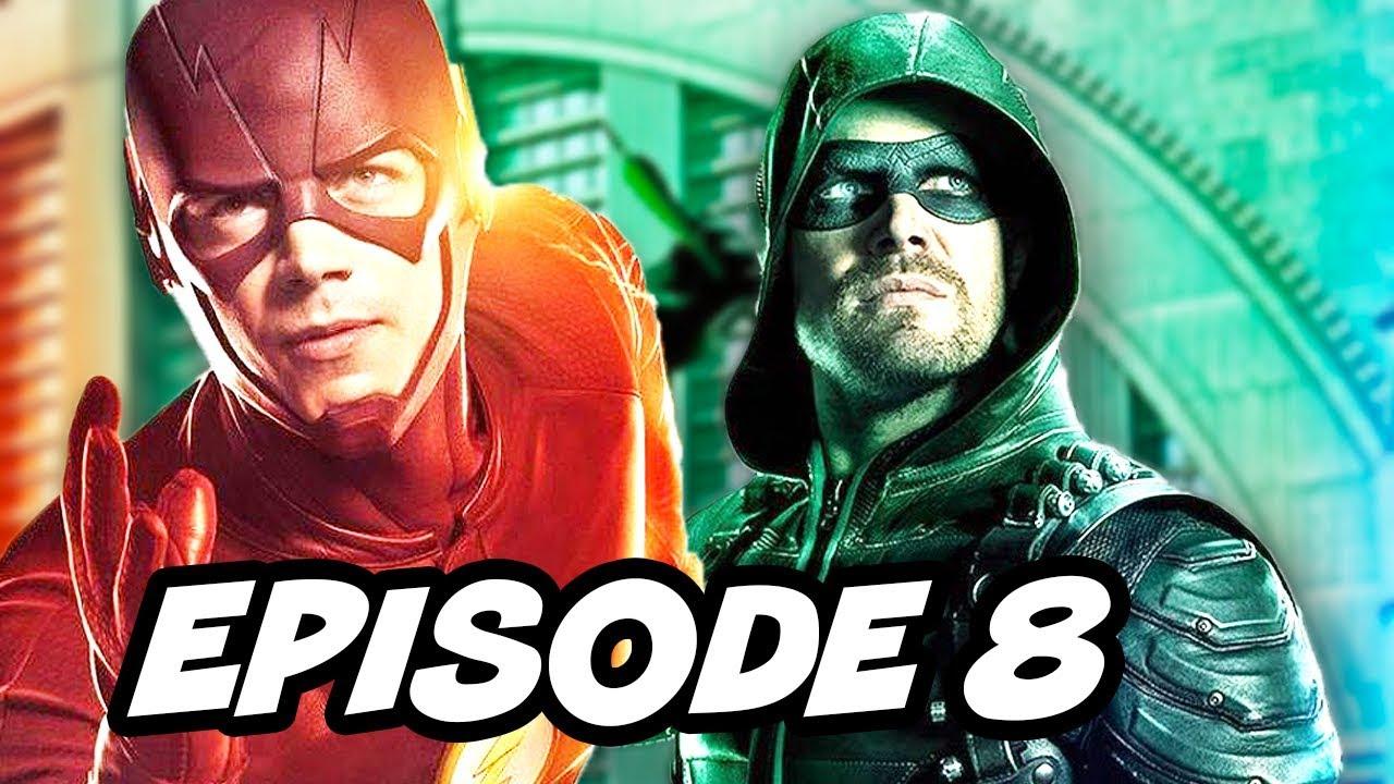 Download The Flash Season 3 Episode 8 - Arrow Supergirl Legends Crossover Part 2