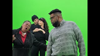 The Showcase Green Screen Taping