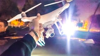 DRONE WITH LIGHTS!! (GAME CHANGER)