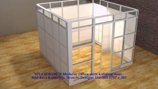 Modular Office Demounatable Walls