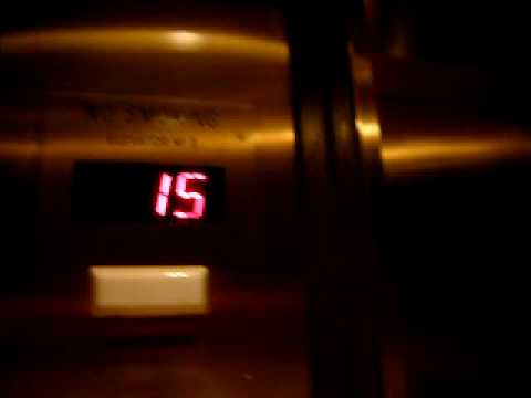 Westinghouse traction elevator - Hilton Financial District Boston