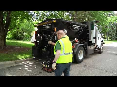 On The Job - Pothole Repair - June 2016