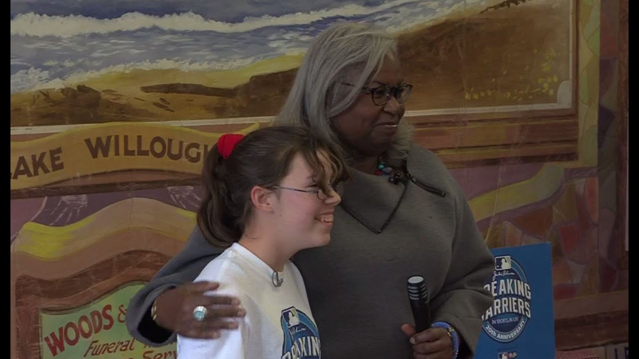Breaking Barriers - Sadie Chamberlain, winner of MLB's Breaking ...