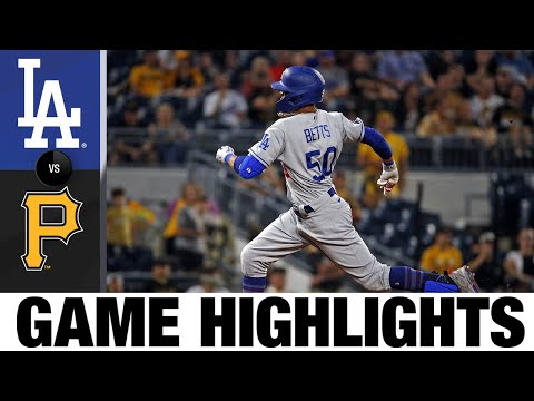 Download Dodgers vs. Pirates Game Highlights (6/08/21) | MLB Highlights