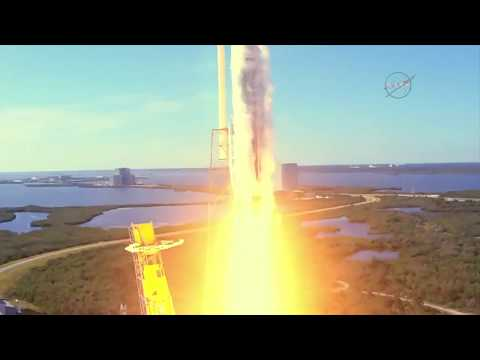 Liftoff! SpaceX Cargo Mission Heads to the International Space Station