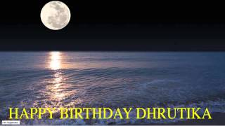 Dhrutika  Moon La Luna - Happy Birthday