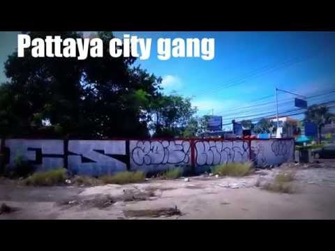Comasound Kartel , Graffiti , vandal , Street, Thailand, Pattaya, City, Gang, aerosol , peinture