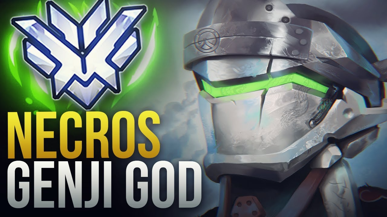 "Download Best Of ""Necros"" GENJI GOD - UNREAL SPEED - GENJI BUFF - Overwatch Montage"