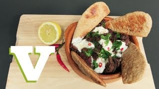 Moroccan Spiced Chicken Livers With Toasted Pitta Bread: The Tasty Tenner S01e2/8