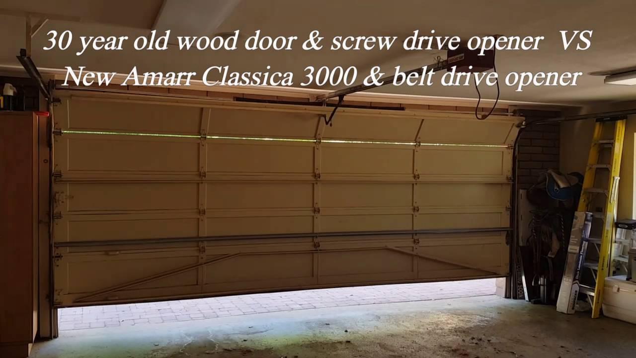 Old vs new in garage doors and openers youtube old vs new in garage doors and openers rubansaba