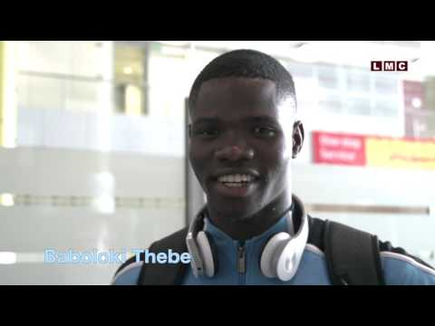 Baboloki Thebe Leaving for Rio Olympics, 2016