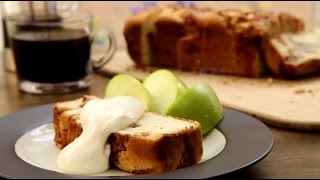 Dessert Recipes - How to Make Apple Cinnamon White Cake