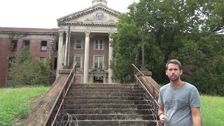 EXPLORING An Abandoned State Prison Grounds - 1000s Of Gravestones & Walking Dead Building