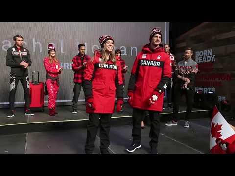 Team Canada unveils Pyeongchang Olympics apparel
