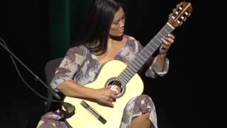 Dr Sandra Lee playing Maleguena on Classical Guitar