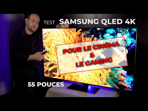 TEST SAMSUNG QE55Q80T, LE QLED TAILLÉ POUR LE GAMING (NEW 2020)