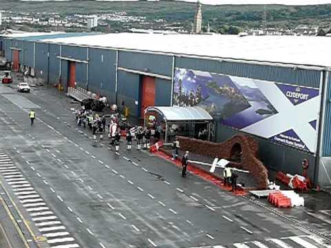 Greenock Ocean Terminal Farewell