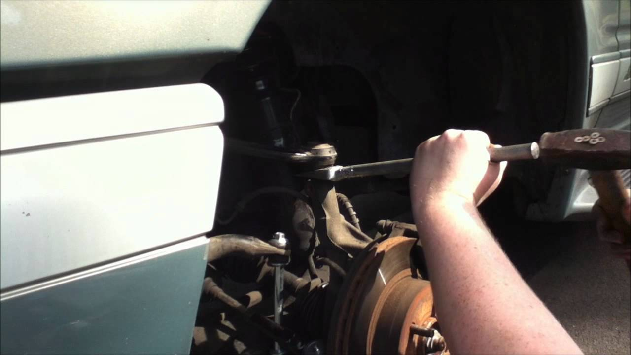 small resolution of ford explorer driver side upper ball joint replacement