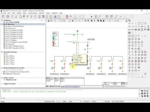 PowerFactory - Wind Farm - Base Model