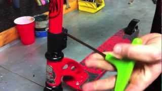 How To Tighten A Scooter Headset (Threaded Headsets)