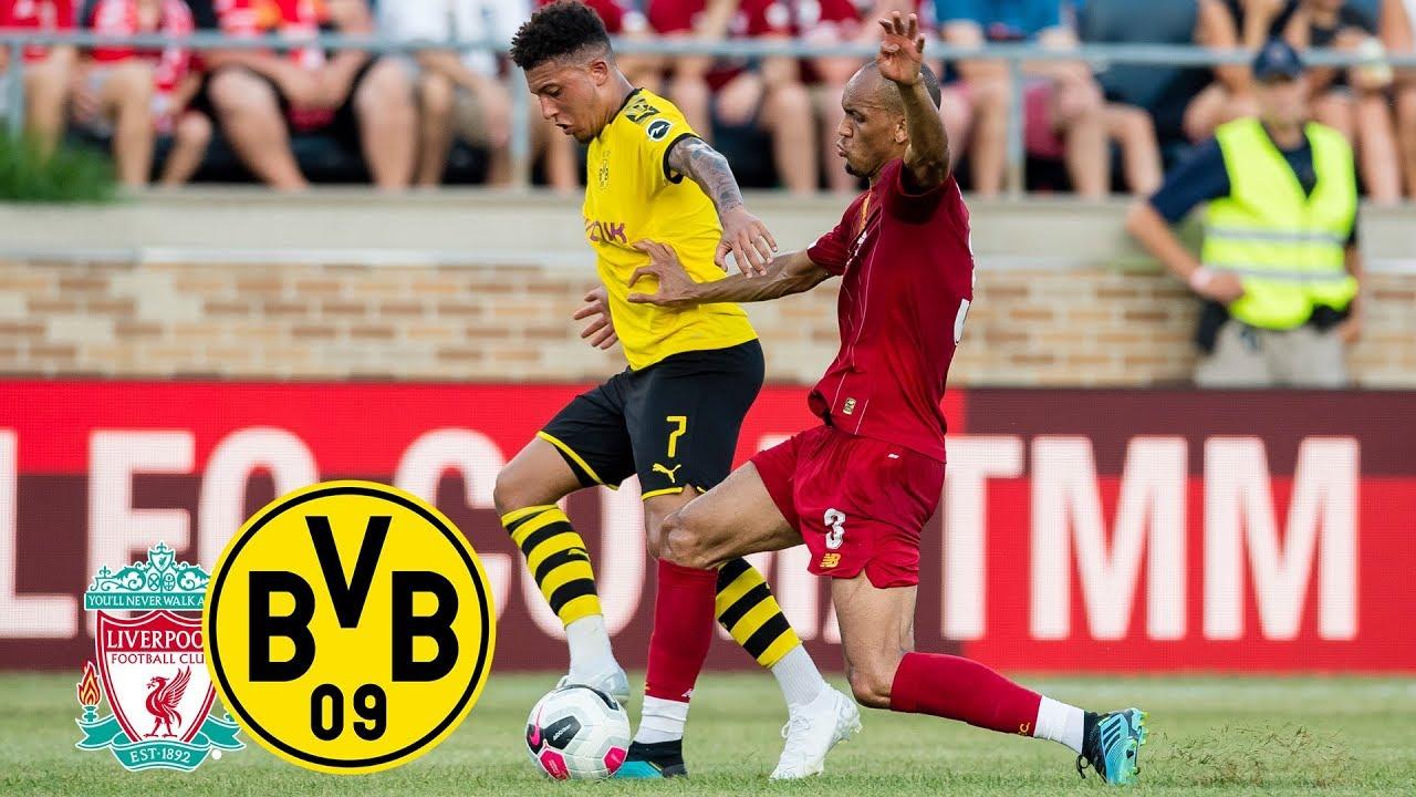 Dänischer Doppelpack entscheidet | FC Liverpool - BVB 2:3 | Highlights