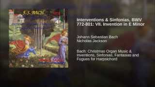 Interventions & Sinfonias, BWV 772-801: VII. Invention in E Minor