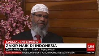 Dr Zakir Naik di Indonesia  Eksklusif CNN Indonesia
