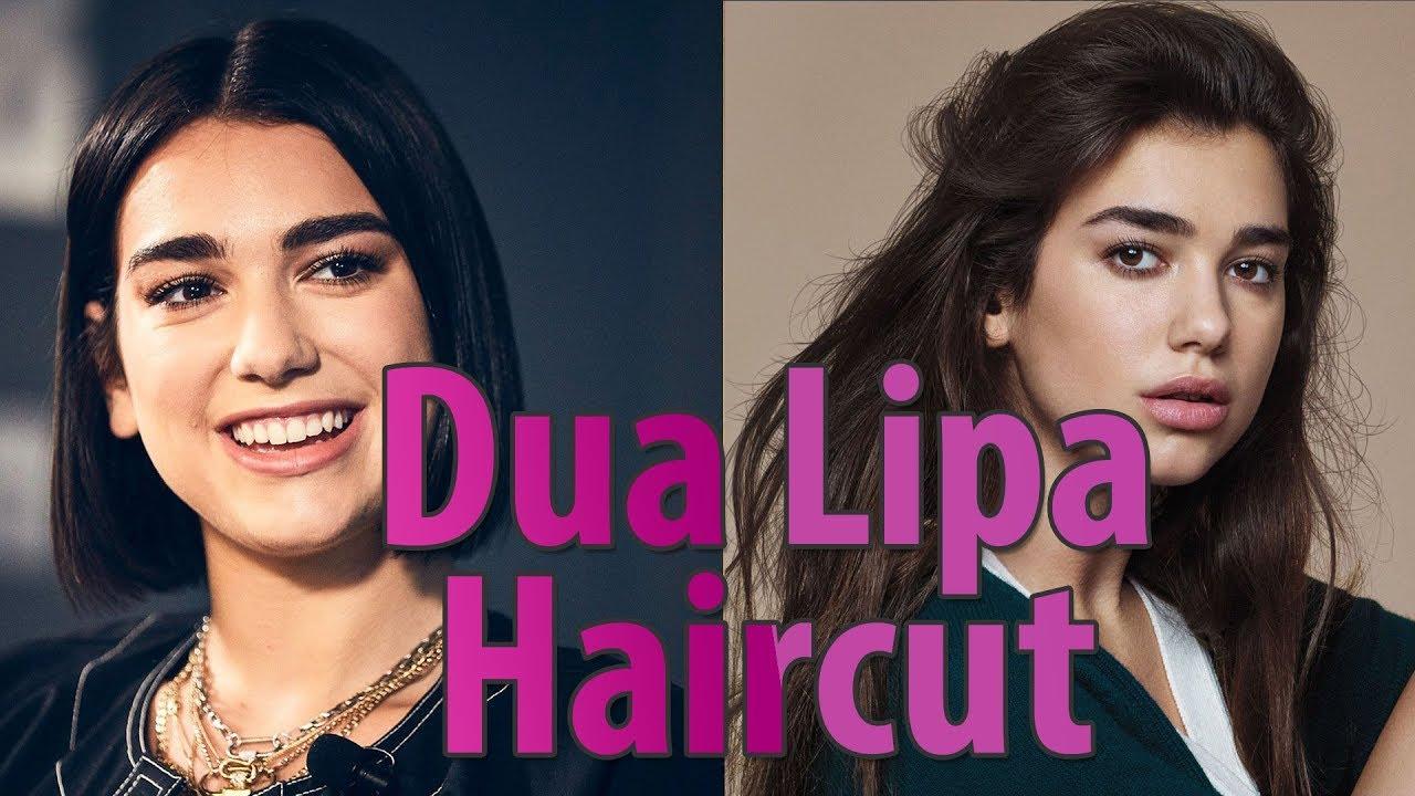 Dua Lipa Haircut | she has beautiful hair 💕