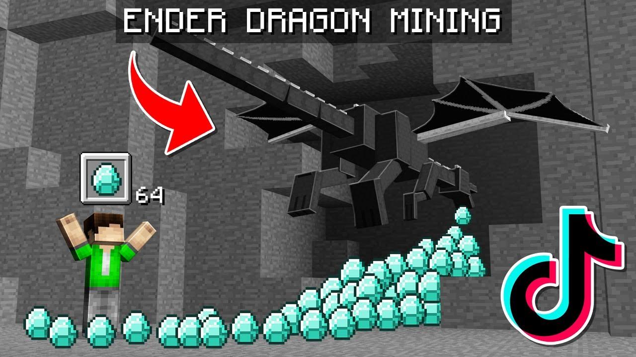 14 TikTok Minecraft Tricks That You NEED to Know in Minecraft!