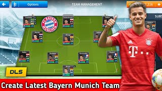 How To Create Latest Bayern Munich Team In Dream League Soccer 2019