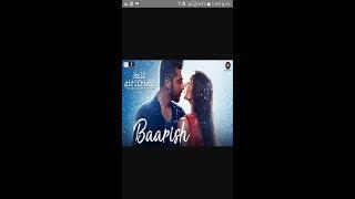 Barish song karaoke movie by halfgirlgriend singer Arjit Sing full HD videos