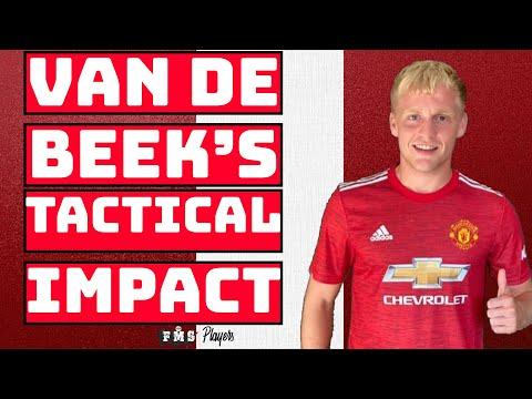 How Donny Van De Beek Fits Into United  Van De Beek Tactical Impact   Van De Beek Tactical Analysis