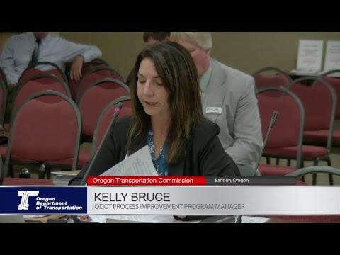 Oregon Transportation Commission 4-19-2018 Meeting In Bandon Oregon