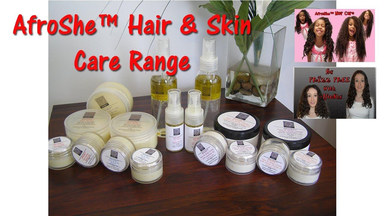 AfroShe™ All Natural Hair & Skin Care Range