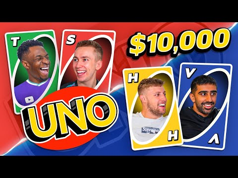 LAST TO STOP PLAYING UNO WINS $10,000
