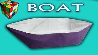 Как сделать лодку из бумаги! Лодка оригами своими руками. Поделка от Детский Мир(Учимся рукоделию! Как сделать лодочку из бумаги. Кораблик лодка оригами своими руками! Лодочка из бумаги..., 2016-05-28T17:00:01.000Z)
