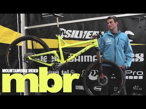 2b3b64bcd90 Pro Bike Check: Dan Atherton's GT Sanction - YouTube